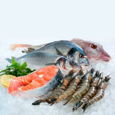 poissons, mer, nourriture, glace, tranche, crabe Alexander  Raths - Dreamstime